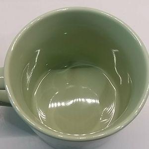 "Threshold Dining - ""I SAW THAT"" 2 Threshold coffee mugs mint green"
